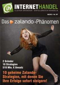 Internethandel.de Titelbild Nr 107 09-2012 Das Zalando-Phänomen