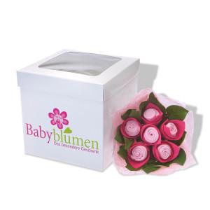 Babystrauss von Babyblumen.de