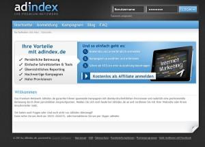 ADindex Affiliatenetzwerk