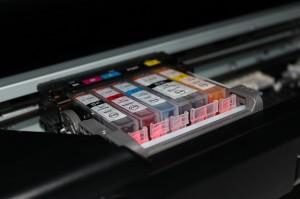 Geld für leere Druckerpatronen